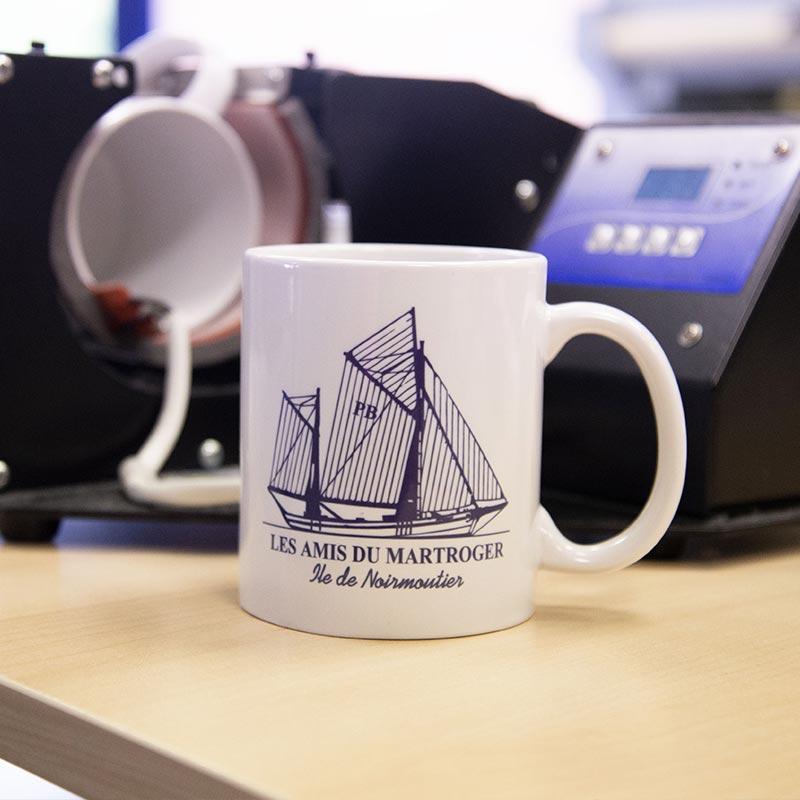 mug personnalisé noirmoutier